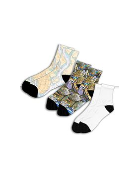 3 Adult Short Socks
