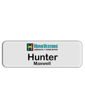 3 x 1 - Corporate Series Acrylic HomeVestor Name Badge