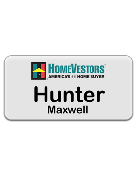 3 x 15  - Corporate Series HomeVestors  Acrylic Name Badge