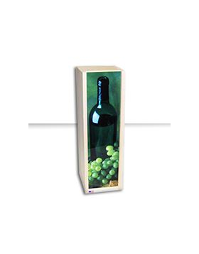 Rustic Slid Lid Wine Boxes